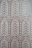 Tela material do laço do poliéster novo do estilo 2017 para o vestuário e a matéria têxtil Home