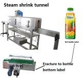 Plein tunnel de rétrécissement de vapeur d'étiquette de chemise d'étiquette pour la bouteille chimique