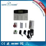 Sistema de alarma sin hilos del G/M de la seguridad casera