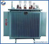 Transformator van de Distributie van de ElektroMacht 50kVA Fase van de In drie stadia/Enige 30kVA van de hoge Frequentie de Olie Ondergedompelde Stootkussen Opgezette met Prijs
