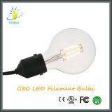 G25/G80 글로벌 에너지 절약 LED 필라멘트 전구 Edison 작풍