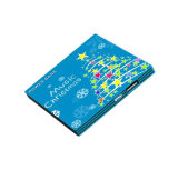 Bank van de Macht van de batterij van de Kaart van de Gift van de bevordering de Draagbare Mobiele met Aangepast Embleem