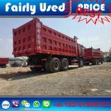 사용된 팁 주는 사람 덤프 트럭의 사용된 6X4 HOWO 팁 주는 사람 트럭