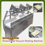 Kundengerechtes Stickstoff-Gas-leerende Nahrungsmittelvakuumverpackung, die Dichtungs-Verpacker-Maschine (LSBZ-3, einwickelt)