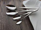 ステンレス鋼の円形のスープ用のスプーン表の夕食のSevingのスプーン