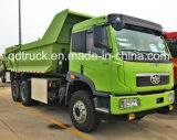 6X4 de Op zwaar werk berekende Vrachtwagen van de Vrachtwagen van de Stortplaats FAW