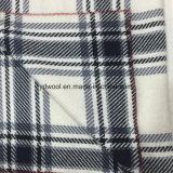 Tela clásica Black&White de las lanas de la verificación