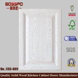 Отделка твердой древесины панели неофициальных советников президента поднятая дверью естественная (GSP5-009)