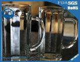 cuvette transparente sans plomb créatrice de jus de cuvette de la bière 400ml
