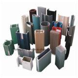 Guichet en aluminium de tissu pour rideaux de /Aluminium de profil d'enduit de poudre