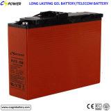 vordere Terminalbatterie des gel-12V100ah für Solarspeicherung