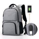 Saco Multi-Compartment da trouxa do computador para a escola, estudante, portátil, caminhando