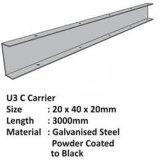 Разъем несущей с гальванизированным стальным материалом для потолка Suspened