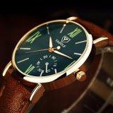 Reloj unisex de la manera del reloj del superventas del diseño compacto de 327 Yazole