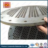 Hoja de tubo bimetálico resistente a la corrosión para el shell y el cambiador de calor del tubo