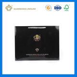 Bolso de lujo del regalo de las compras del papel de marfil (alta calidad)