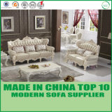 Mobilia di lusso europea del sofà del cuoio della casa di stile