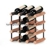 Metaal DIY en het Houten Rek van de Wijn van Bordex van de Opslag van de Vertoning van de Fles