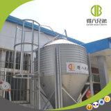 Silo usado para el almacenaje de la alimentación en granjas grandes y de tamaño mediano