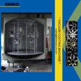 El motor rueda la máquina de la vacuometalización