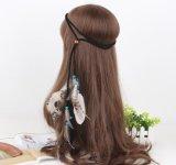 Acessórios coloridos do cabelo da pena para meninas