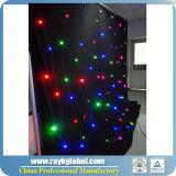 LED-Stern-Vorhang, Wedding Dekoration, schwarzes Hintergrund-Licht