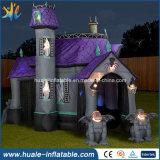 Festival d'amusement annonçant l'événement d'usager, Chambre hantée par Veille de la toussaint la plus neuve populaire