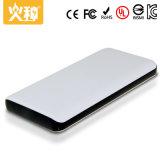 Chargeur portatif de téléphone de grande capacité du côté 10000mAh de pouvoir de téléphone mobile