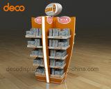 Soporte de visualización del papel de la cartulina del soporte de visualización de suelo para la venta al por menor