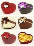 Caixa de papel de empacotamento do chocolate do presente luxuoso do Valentim