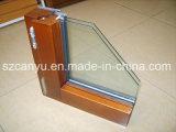Guichet fixe composé en bois en aluminium de la meilleure qualité