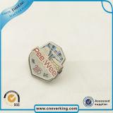 Pin promotionnel professionnel d'insigne en métal du modèle 3D