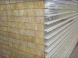 El panel de emparedado de aluminio del acero EPS/PU/Fiberglass/Rockwool de la azotea de la pared