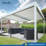 Telhado de alumínio motorizado Pergola Sun que protege a grelha horizontal impermeável