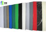 El panel acanalado de aluminio del panel de PVDF adornó el material
