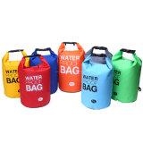 Sacchetto impermeabile di corsa del sacchetto asciutto dell'oceano di nylon alla moda di 500d Ripstop