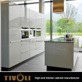 Tivoli Qualitäts-moderner hoher Glanz-Farbanstrich-Küche-Schrank