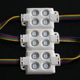 LED表示ボードはLEDのモジュールによってついた