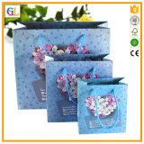 Sacs de luxe de cadeau de Laminationed, sacs à main, sacs en papier de achat