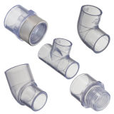 Clear Sch40 Pipe and Fitting
