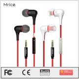 Fone de ouvido intra-auricular com fone de ouvido com fone de ouvido com fio popular