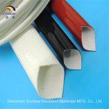 ISO-flammhemmendes Silikon-umsponnenes Fiberglas UL-Ts16949 Sleeving