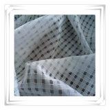 Ткань полиэфира моноволокна решетки, целесообразная для платьев женщин