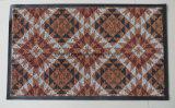 Stuoia decorativa stampata del pavimento della stuoia dell'entrata del PVC della stuoia di portello