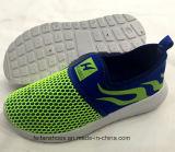 L'injection de chaussures occasionnelles du Slip-on des enfants chauds de vente chausse l'espadrille (FF924-5)
