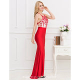 Deluxe Spitze-Backless reizvolle Form-Dame Dress