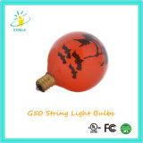 Weißglühende Lampen-Weihnachtsglühlampe-Zeichenkette-Licht