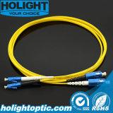 Sc к шнуру заплаты оптического волокна LC Sm 2.0mm двухшпиндельному
