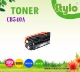 Cartucho de tonalizador CB540A/541/542/543 da cor da alta qualidade para a impressora do cavalo-força
