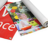 Stampa perforata impermeabile della bandiera del vinile per fare pubblicità